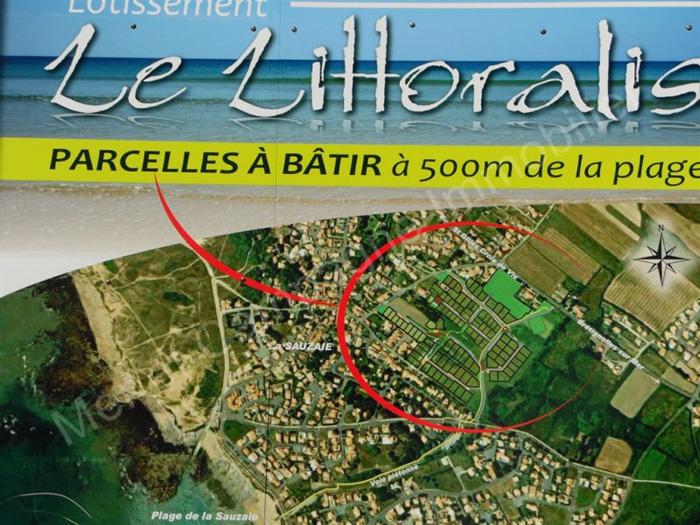 Terrain a vendre Bretignolles sur Mer 1